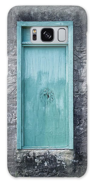 Turquoise Door Galaxy Case