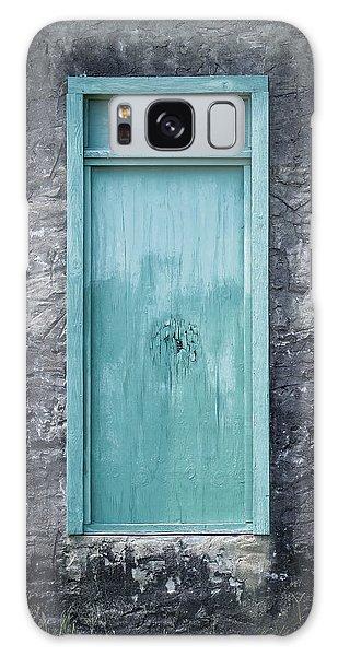 Turquoise Door Galaxy Case