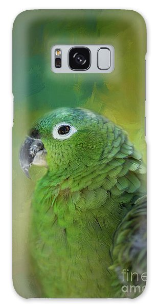 Turquoise-fronted Amazon Galaxy Case