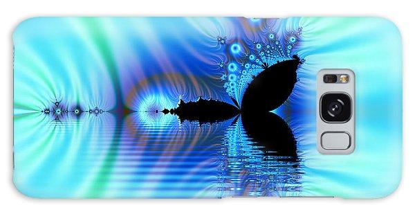 Turquoise Lake Fractal Galaxy Case