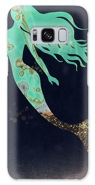 Extinct And Mythical Galaxy S8 Case - Turquoise Mermaid by Mindy Sommers