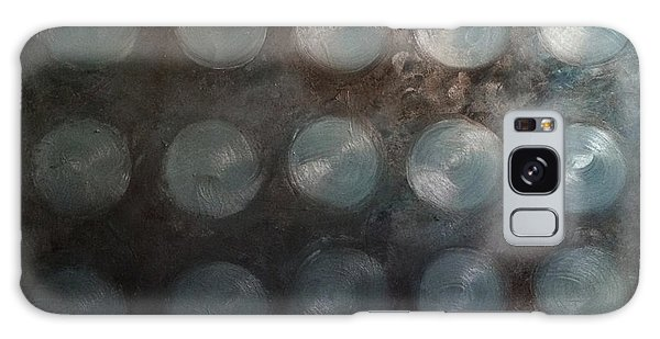 Turquoise Sapphire Aquamarine Mystery Oil On Canvas 2015  Galaxy Case