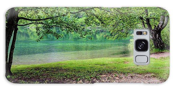 Turquoise Zen - Plitvice Lakes National Park, Croatia Galaxy Case