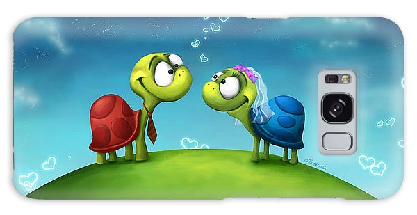 Turtle Galaxy Case - Turti And Turto by Tooshtoosh
