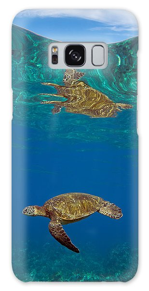 Turtle And Sky Galaxy Case