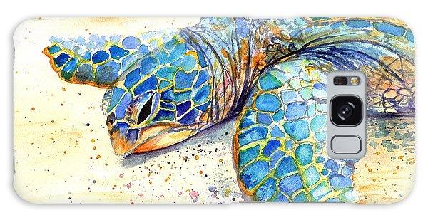 Turtle At Poipu Beach 4 Galaxy Case