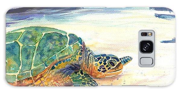 Turtle At Poipu Beach 5 Galaxy Case