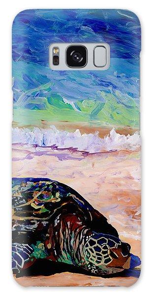Turtle At Poipu Beach 9 Galaxy Case