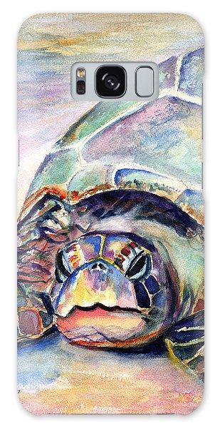 Turtle At Poipu Beach Galaxy Case