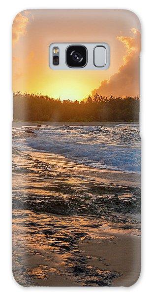 Turtle Bay Sunset 3 Galaxy Case