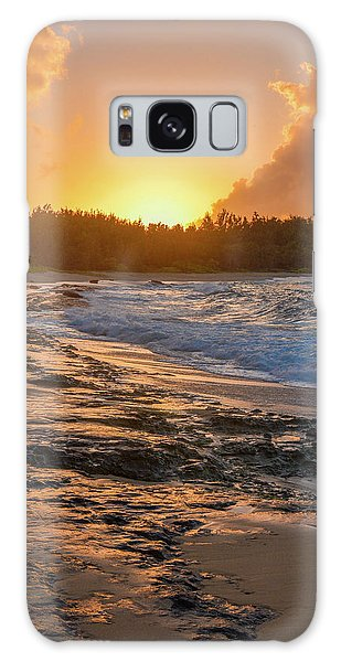 Turtle Bay Sunset 3 Galaxy Case