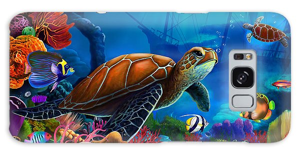 Reef Diving Galaxy Case - Turtle Domain by MGL Meiklejohn Graphics Licensing