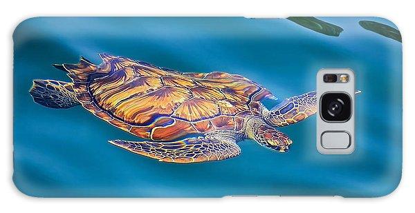 Turtle Up Galaxy Case