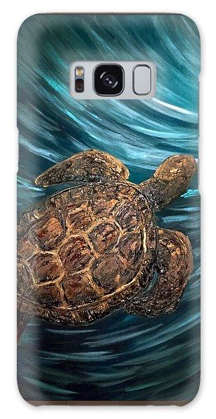 Turtle Wave Deep Blue Galaxy Case