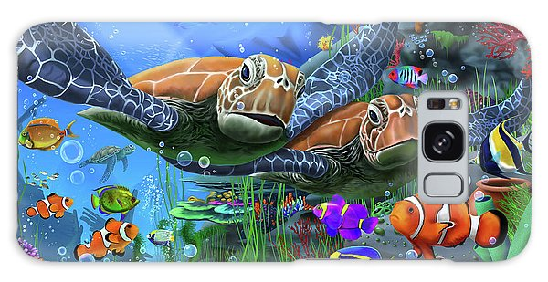 Turtle Galaxy Case - Turtles Of The Deep by MGL Meiklejohn Graphics Licensing