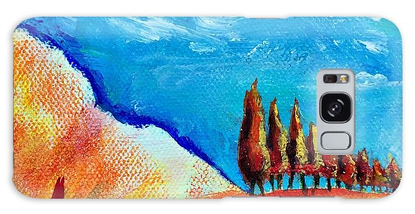 Tuscan Cypress Galaxy Case