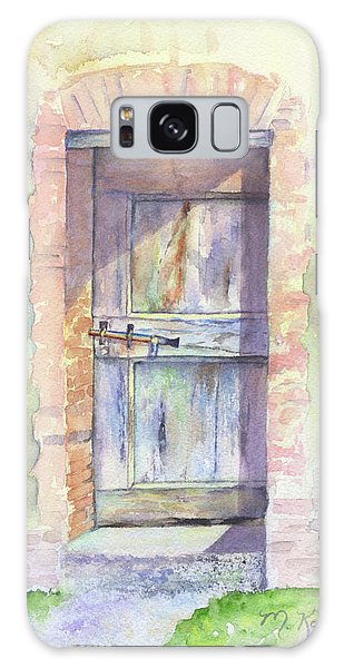 Tuscan Doorway Galaxy Case