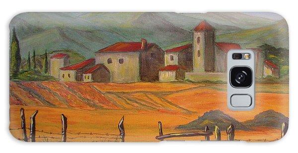 Tuscan Farm Galaxy Case