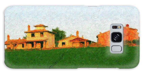 Tuscan Farmhouse Galaxy Case
