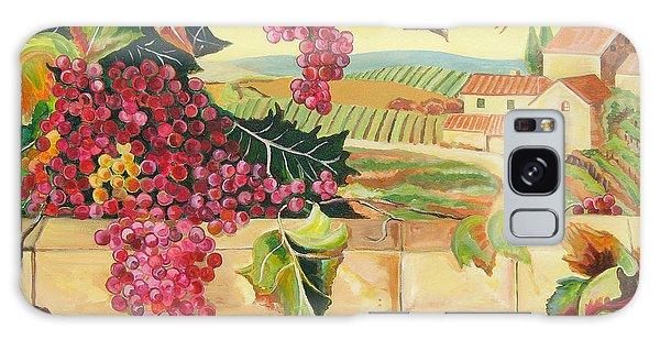 Tuscan Harvest Galaxy Case by John Keaton