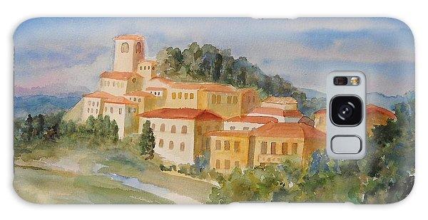 Tuscan Hilltop Village Galaxy Case