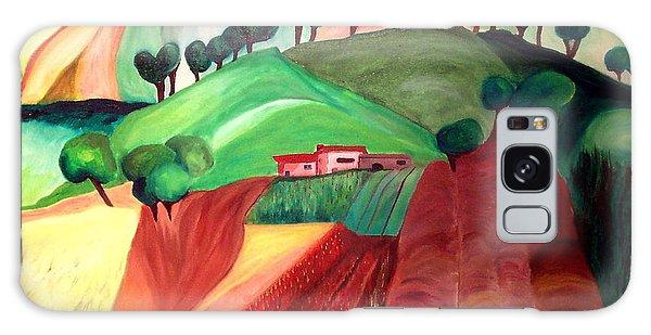 Tuscan Landscape Galaxy Case by Patricia Arroyo