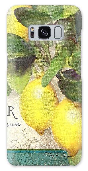 Tuscan Lemon Tree - Citronier Citrus Limonum Vintage Style Galaxy Case