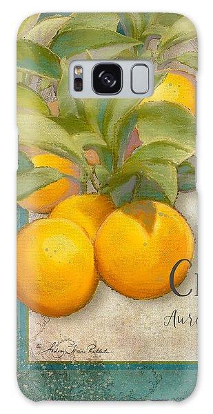 Tuscan Orange Tree - Citronier Aurantiaco Lignum Vintage Galaxy Case