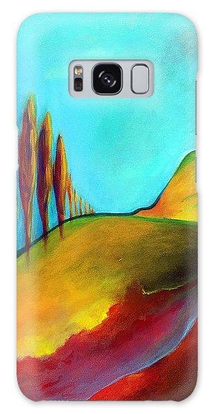 Tuscan Sentinels Galaxy Case by Elizabeth Fontaine-Barr