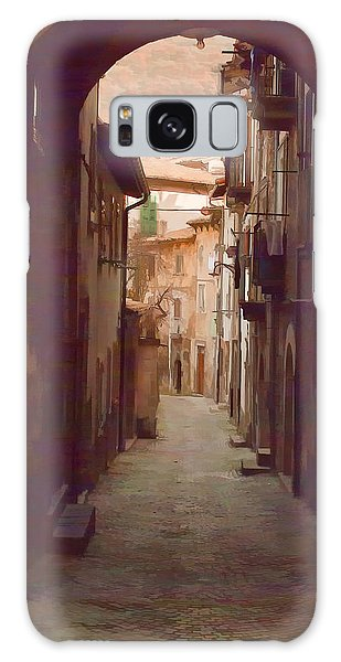 Tuscan Side Street Galaxy Case