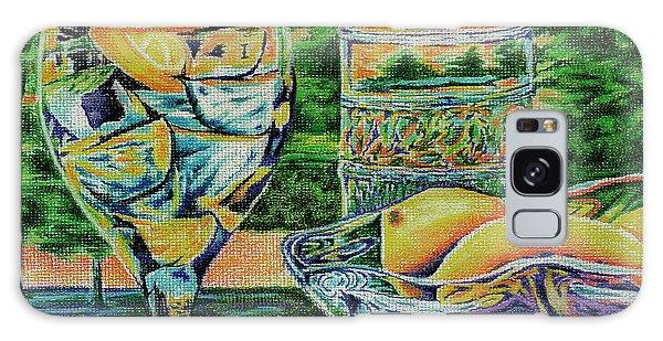 Tuscan Summer Lemonade  Galaxy Case by Peter Piatt