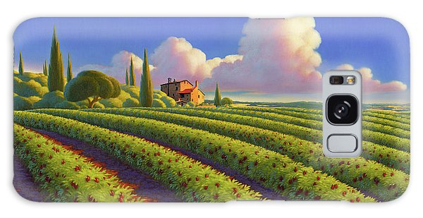 Tuscan Summer Galaxy Case by Robin Moline