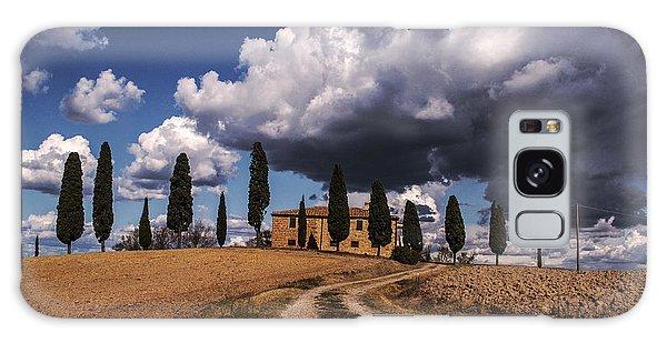 Tuscan Villa Galaxy Case by Yuri Santin
