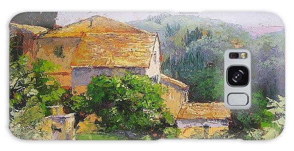 Tuscan Village Galaxy Case