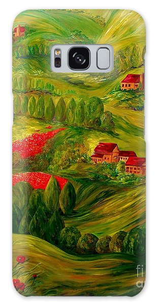 Tuscany At Dawn Galaxy Case