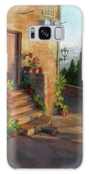 Tuscany Morning Light Galaxy Case