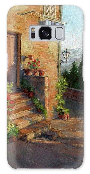 Tuscany Morning Light Galaxy Case by Vikki Bouffard