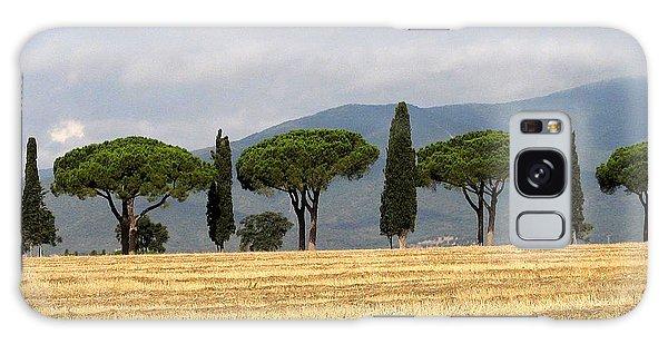 Tuscany Trees Galaxy Case