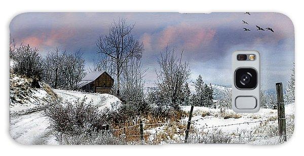 Twain's Barn Galaxy Case by Ed Hall