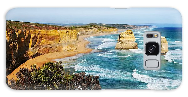 Twelve Apostles Australia Galaxy Case by Lexa Harpell