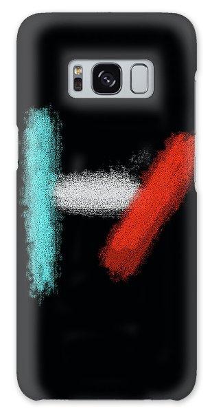 Twenty One Pilots Black Abstract Galaxy Case