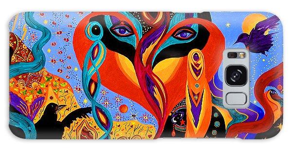 Karmic Lovers Galaxy Case by Marina Petro
