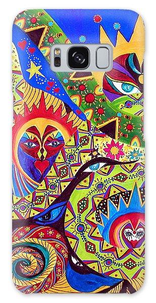 Serpent's Dance Galaxy Case by Marina Petro
