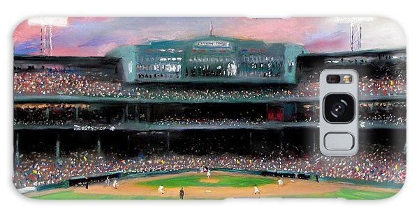 Baseball Galaxy Case - Twilight At Fenway Park by Jack Skinner