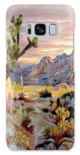 Twilight At Joshua   Vert. Galaxy Case