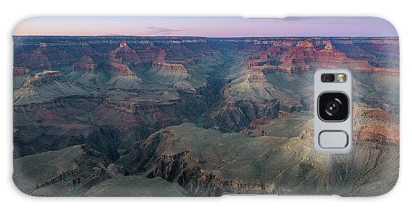 Twilight At South Rim Grand Canyon Galaxy Case