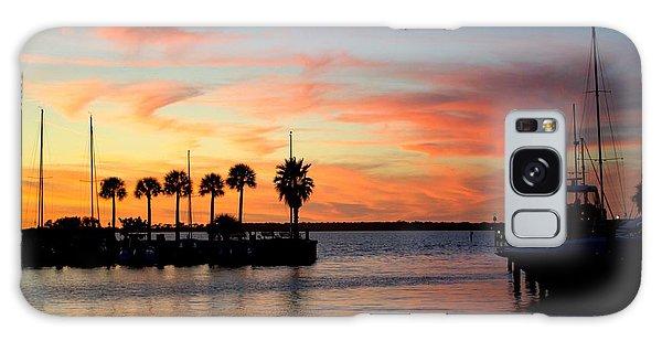 Twilight At The Marina Galaxy Case