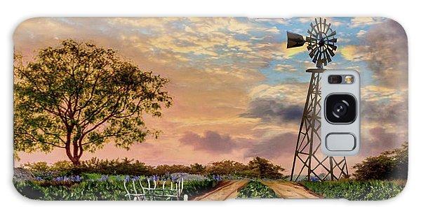 Twilight At The Vineyard Galaxy Case