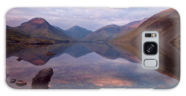 Twilight At Wastwater In Cumbria Galaxy Case