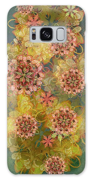 Twilight Blossom Bouquet Galaxy Case